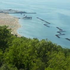 Gabicce vista dal Monte S.Bartolo