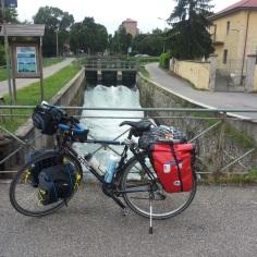 Sui canali verso Pavia