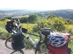 Sui saliscendi del Monte S,Bartolo