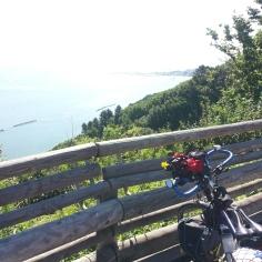 In discesa verso Pesaro