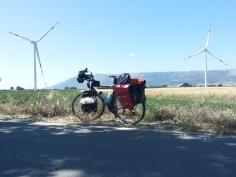 Energia eolica e a pedali