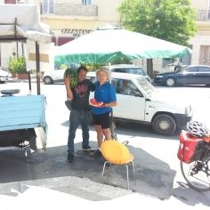 Una fetta di anguria a Francavilla Fontana